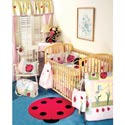 Lady Bug Crib Bedding, Butterfly Themed Nursery | Butterfly Bedding | ABaby.com