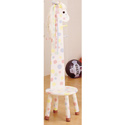 Pony Stool with Coat Rack, Wild West, Western, Cowboy Themed Furniture, Decor For Childrens Rooms and Baby's Nursery.
