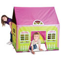 Cottage Play House Tent, Outdoor Playhouse | Kids Play Houses | Kids Play Tents | ABaby.com