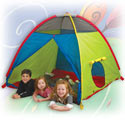 Super Duper 4 Kids Play Tent, Outdoor Playhouse | Kids Play Houses | Kids Play Tents | ABaby.com