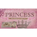 Princess the Fairest of them All Artwork, Girls Wall Art | Artwork For Girls Room | ABaby.com