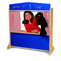 Deluxe Puppet Theater, Creative Play | Creative Toddler Toys | ABaby.com