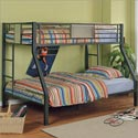 Monster Bedroom Twin over Full Bunk Bed, Toddler Iron Bunk Beds | Kids Bunk Beds | ABaby.com
