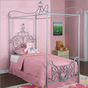 Princess Rebecca Canopy Twin Size Bed, Princess Themed Nursery | Girls Princess Bedding | ABaby.com