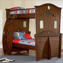 Shiver Me Timbers Twin Bunk Bed