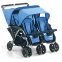 Quad Stroller, Multiple Strollers | Twin Strollers | Double Strollers | ABaby.com