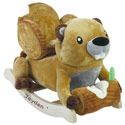 Personalized Buckee Beaver Rocker