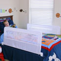 Swing Down Double-Sided Bed Rail, Toddler Bed Rail | Bed Safety Rails | ABaby.com