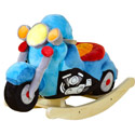 Lil� Biker Motorcycle Rocker, Kids Rocking Horse | Personalized Rocking Horses | ABaby.com