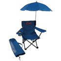 Personalized Children's Camping Chair with Umbrella, Kids Play Chairs | Personalized Kids Chairs | ABaby.com