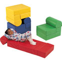 Rainbow Flip Top Chairs, Soft Play Toys | Baby Jogger | Fitness Toys | ABaby.com