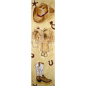 My Cowboy Growth Chart, Wild West, Western, Cowboy Themed Furniture, Decor For Childrens Rooms and Baby's Nursery.