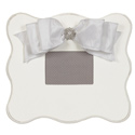 Embellished Scalloped Wall Frame, Kids Bedroom Decor | Clocks | Baby Picture Frames | ABaby.com
