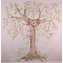 Enchanted Tree Wall Mural, Personalized Kids Wall Art | Personalized Wall Decor | ABaby.com