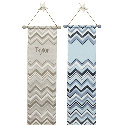 Personalized Chevron Growth Chart, Personalized Baby Growth Chart for Girls & Boys