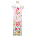 Springtime Fantasy Growth Chart, Personalized Baby Growth Chart for Girls & Boys