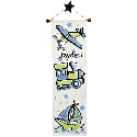 Transportation Stars Growth Chart, Airplane Themed Nursery | Airplane Bedding | ABaby.com