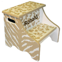 Safari Fun Step Stool, African Safari Themed Toys | Kids Toys | ABaby.com