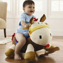 Colt Pony Rocker, Wild West, Western, Cowboy Themed Furniture, Decor For Childrens Rooms and Baby's Nursery.