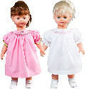 Ella and Emily Twin Dolls, Baby Doll Furniture Set | Doll Beds | High Chair | Cradle | Armoire