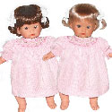 Kate and Kitty Twin Dolls, Real Baby Dolls | Lifelike | Twin | Newborn | aBaby.com