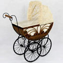 Caroline Doll Carriage, Baby Doll House | Accessories | Doll Furnitutre Sets