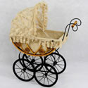 Eleanor Doll Carriage, Baby Doll House | Accessories | Doll Furnitutre Sets