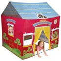 Little Red School House Tent, Outdoor Playhouse | Kids Play Houses | Kids Play Tents | ABaby.com