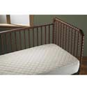 Cotton Fitted Crib Pad,