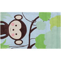 Monkey Business Rug, Kids Playroom Area Rugs | Bedroom Rugs | Carpet | aBaby.com