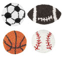 Shaggy Raggy Sports Rugs, Sports Nursery Decor | Sports Wall Decals | ABaby.com