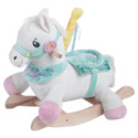 Personalized Carousel Horse Plush Rocker