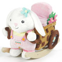Beatrice Bunny Rocker, Kids Rocking Horse | Personalized Rocking Horses | ABaby.com