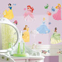 Disney Princess Wall Decal , Princess Nursery Decor | Princess Wall Decals | ABaby.com