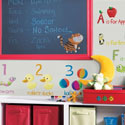 Education Station Wall Decal, Peel & Stick Wall Decals | Vinyl Wall Decal | ABaby.com