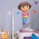 Dora the Explorer Giant Wall Decal, Kids Wall Decals | Baby Room Wall Decals | Ababy.com