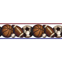 Play Ball Peel & Stick Border