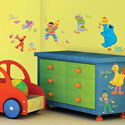 Sesame Street Wall Decal, Kids Wall Decals | Baby Room Wall Decals | Ababy.com