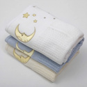 Moon and Stars Baby Blanket, Baby Blanket Set | Baby Blanket | Soft Baby Blankets | ABaby.com