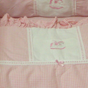 Animal Appliqu� Crib Bedding, Baby Girl Crib Bedding | Girl Crib Bedding Sets | ABaby.com