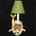 Safari Walk About Wall Sconce, African Safari Themed Nursery | African Safari Bedding | ABaby.com