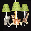 Safari Walk About Chandelier, African Safari Themed Nursery | African Safari Bedding | ABaby.com