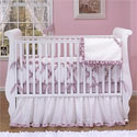Samantha Crib Bedding, Prima ballerina Themed Nursery | Girls ballerina Bedding | ABaby.com