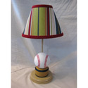All Star Baseball Lamp,