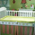 Breathable Crib Mattress and Bumper,