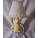 Rubber Duckie Sconce, Ducky Nursery Decor | Ducky Wall Decals | ABaby.com