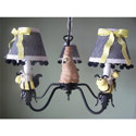 Bee My Baby Chandelier, Frogs And Bugs Nursery Decor | Frogs And Bugs Wall Decals | ABaby.com