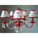 Red for All Chandelier, Nursery Lighting | Kids Floor Lamps | ABaby.com
