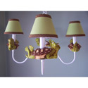 Tommy the Turtle Chandelier, Frogs And Bugs Nursery Decor | Frogs And Bugs Wall Decals | ABaby.com