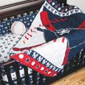 MLB Licensed Crib Bedding Set, Sports Themed Nursery | Boys Sports Bedding | ABaby.com